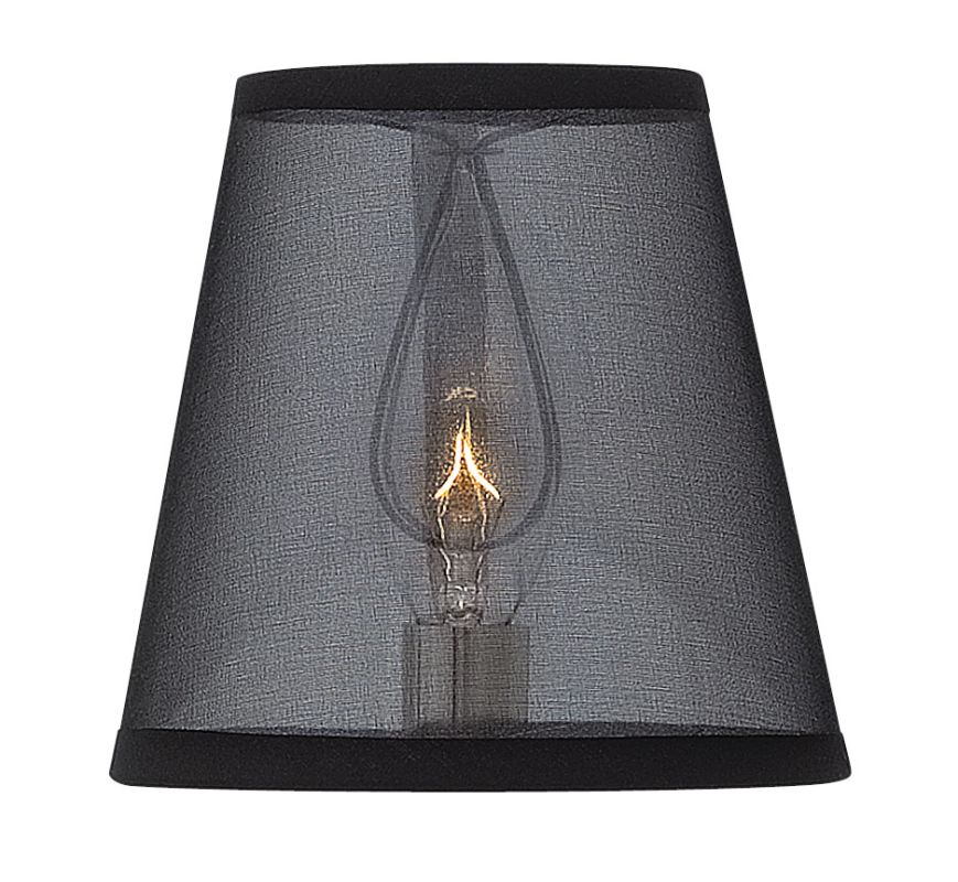 Hinkley Lighting 4752SH Optional Shade for the Ascher Collection Black