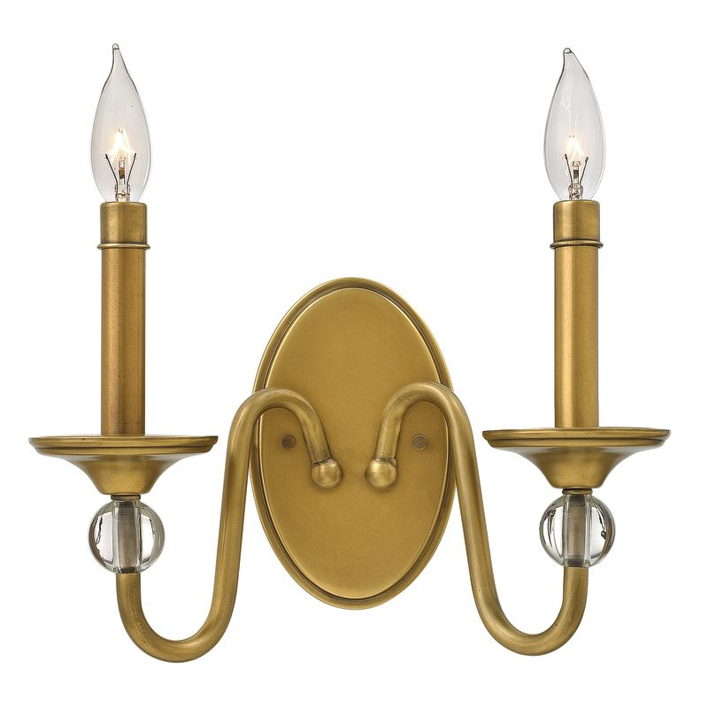 Hinkley Lighting 4952 2 Light Double Wall Sconce from the Eleanor Sale $139.00 ITEM: bci2635460 ID#:4952HB UPC: 640665495201 :