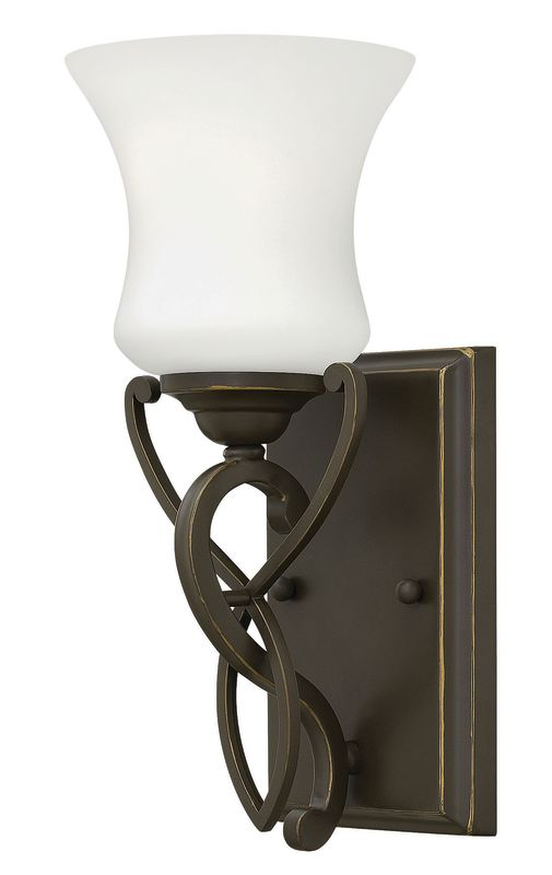 Hinkley Lighting 5000-LED 1 Light LED Bathroom Sconce from the Brooke