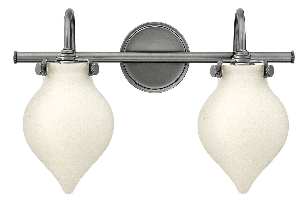 "Hinkley Lighting 50022 2 Light 19.25"" Width Bathroom Vanity Light with"