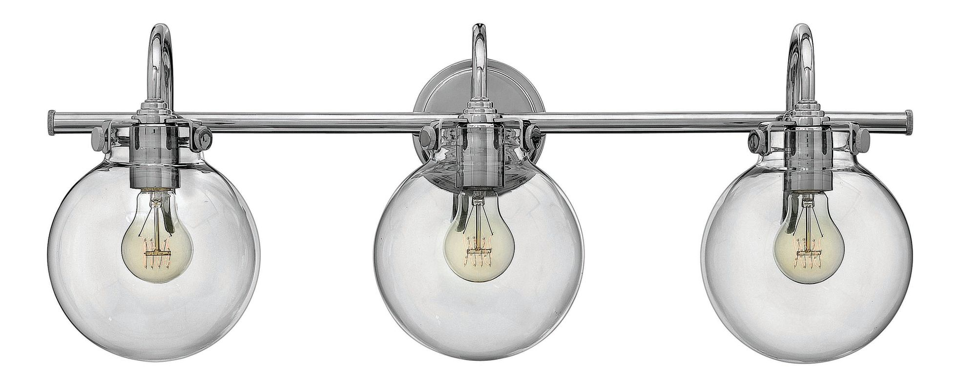 Hinkley Lighting 50034CM Chrome Industrial Congress Bathroom Light Sale $419.00 ITEM: bci2362265 ID#:50034CM UPC: 640665500813 :