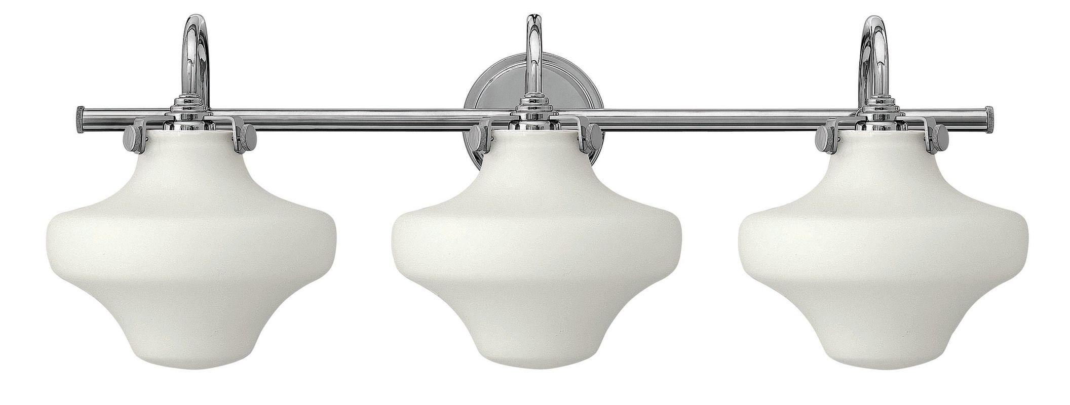 "Hinkley Lighting 50035 3 Light 30"" Width Bathroom Vanity Light with"