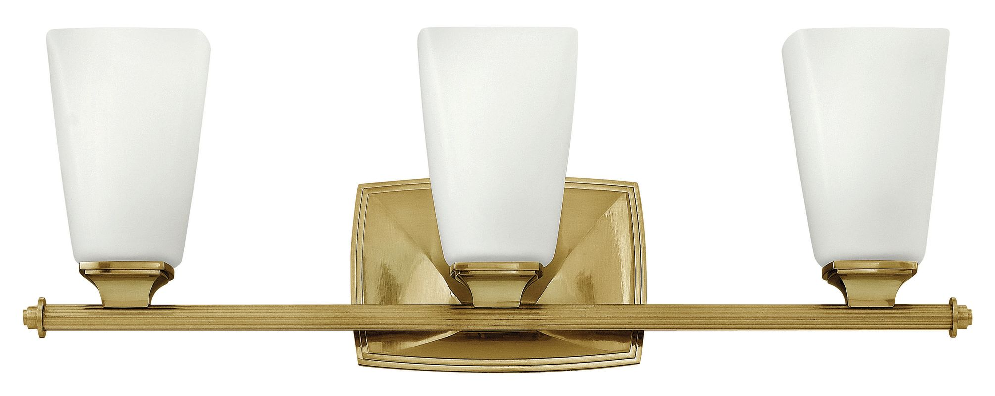 Hinkley Lighting 53013 3 Light Bathroom Vanity Light with Frosted Sale $279.00 ITEM: bci2635504 ID#:53013BC UPC: 640665530162 :