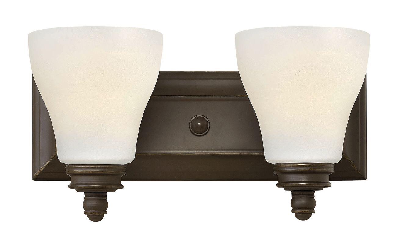 "Hinkley Lighting 53582 2 Light 14"" Width Bathroom Vanity Light from"
