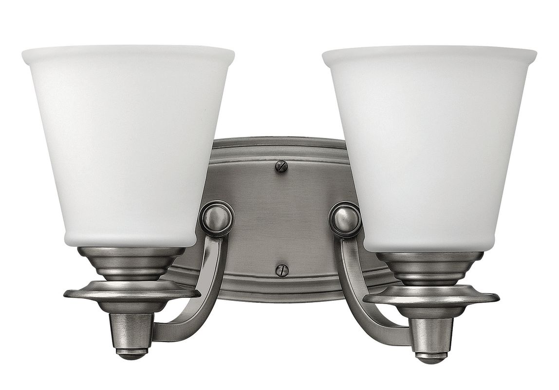 Hinkley Lighting 54262 2 Light Bathroom Vanity Light from the Plymouth