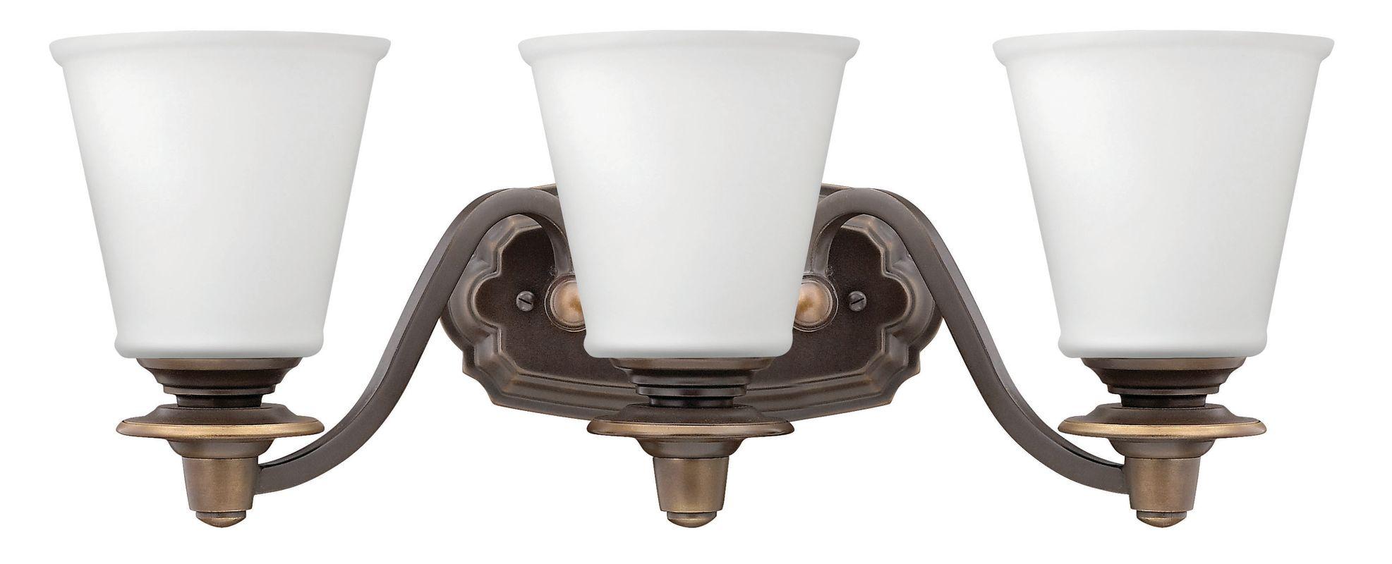 Hinkley Lighting 54263 3 Light Bathroom Vanity Light from the Plymouth