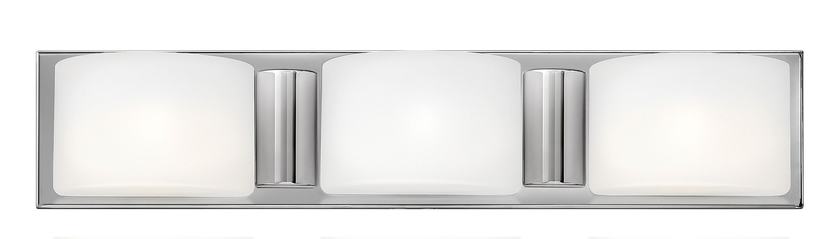 Hinkley Lighting 55483 3 Light Bathroom Vanity Light from the Daria