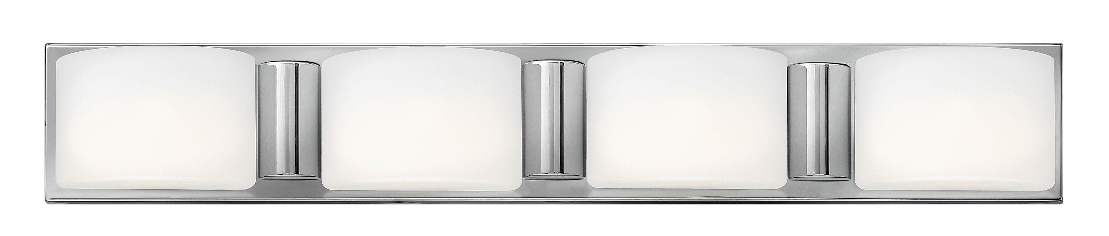 Hinkley Lighting 55484 4 Light Bathroom Vanity Light from the Daria