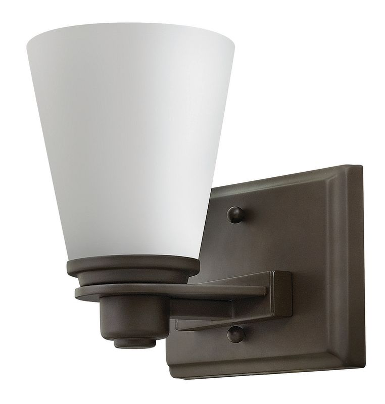 Hinkley Lighting 5550 1 Light Bathroom Sconce from the Avon Collection