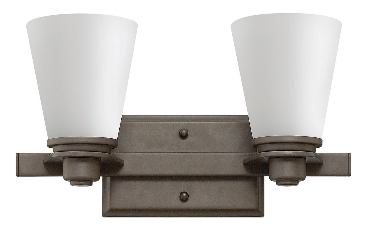 Hinkley Lighting 5552-GU24 2 Light Title 24 Fluorescent Bathroom