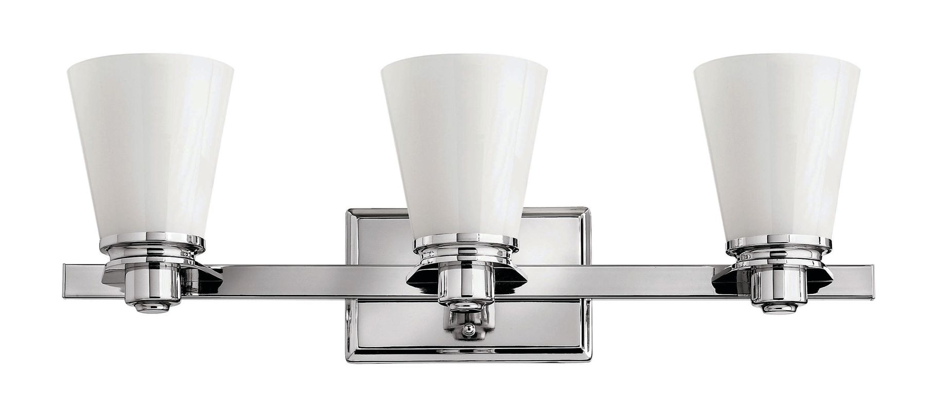 Hinkley Lighting 5553-GU24 3 Light Title 24 Fluorescent Bathroom
