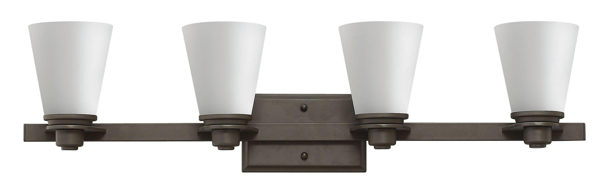 Hinkley Lighting 5554-GU24 4 Light Title 24 Fluorescent Bathroom
