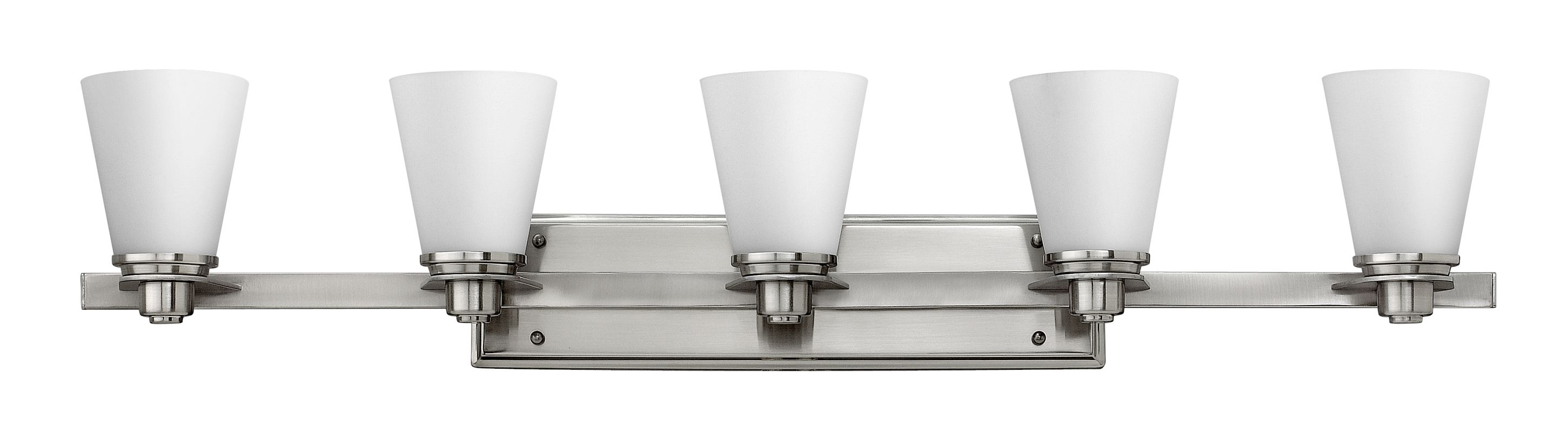Hinkley Lighting 5555 5 Light Bathroom Vanity Light from the Avon