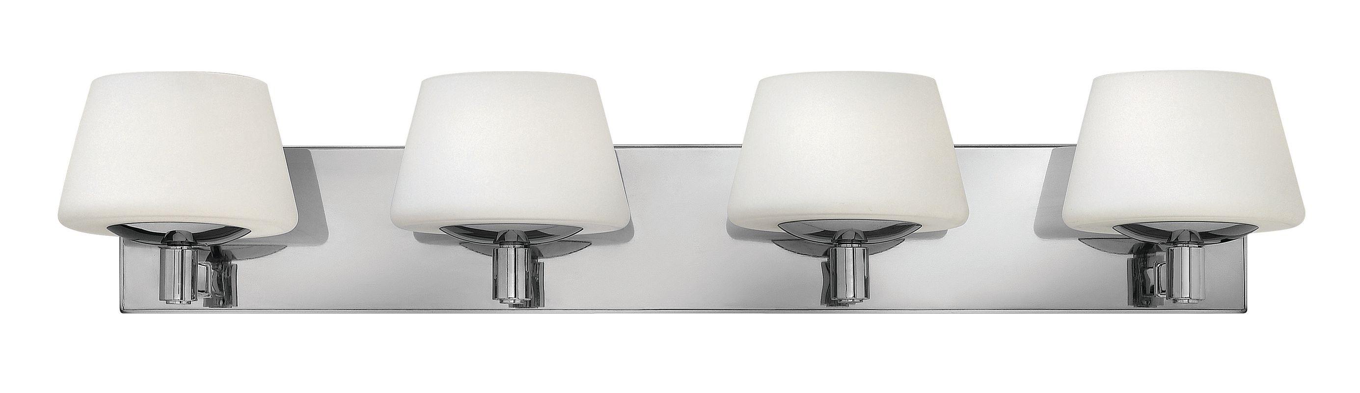 Hinkley Lighting 55754 4 Light Bathroom Vanity Light from the Bianca