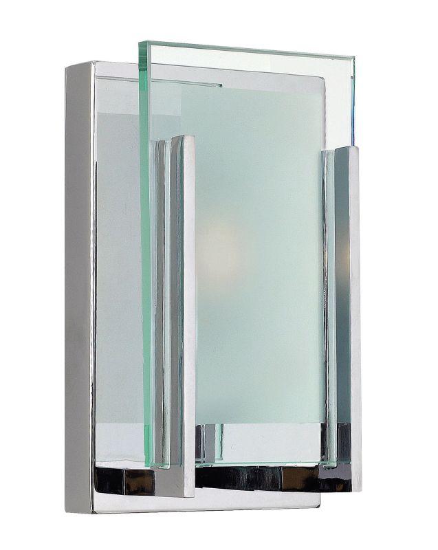 Hinkley 5650CM-LED2 Chrome Contemporary Latitude Bathroom Light