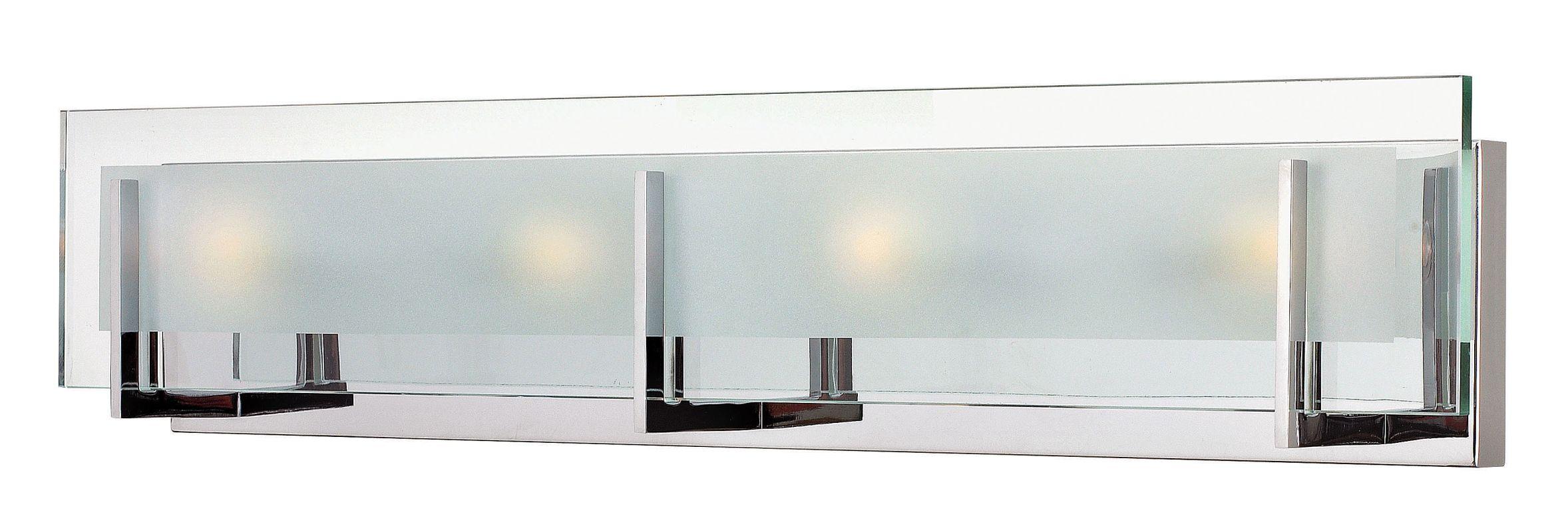 Hinkley 5654CM-LED2 Chrome Contemporary Latitude Bathroom Light