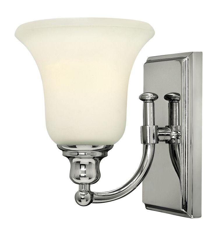 Hinkley lighting 58780cm chrome 1 light 6 width bathroom for Hinkley bathroom sconces