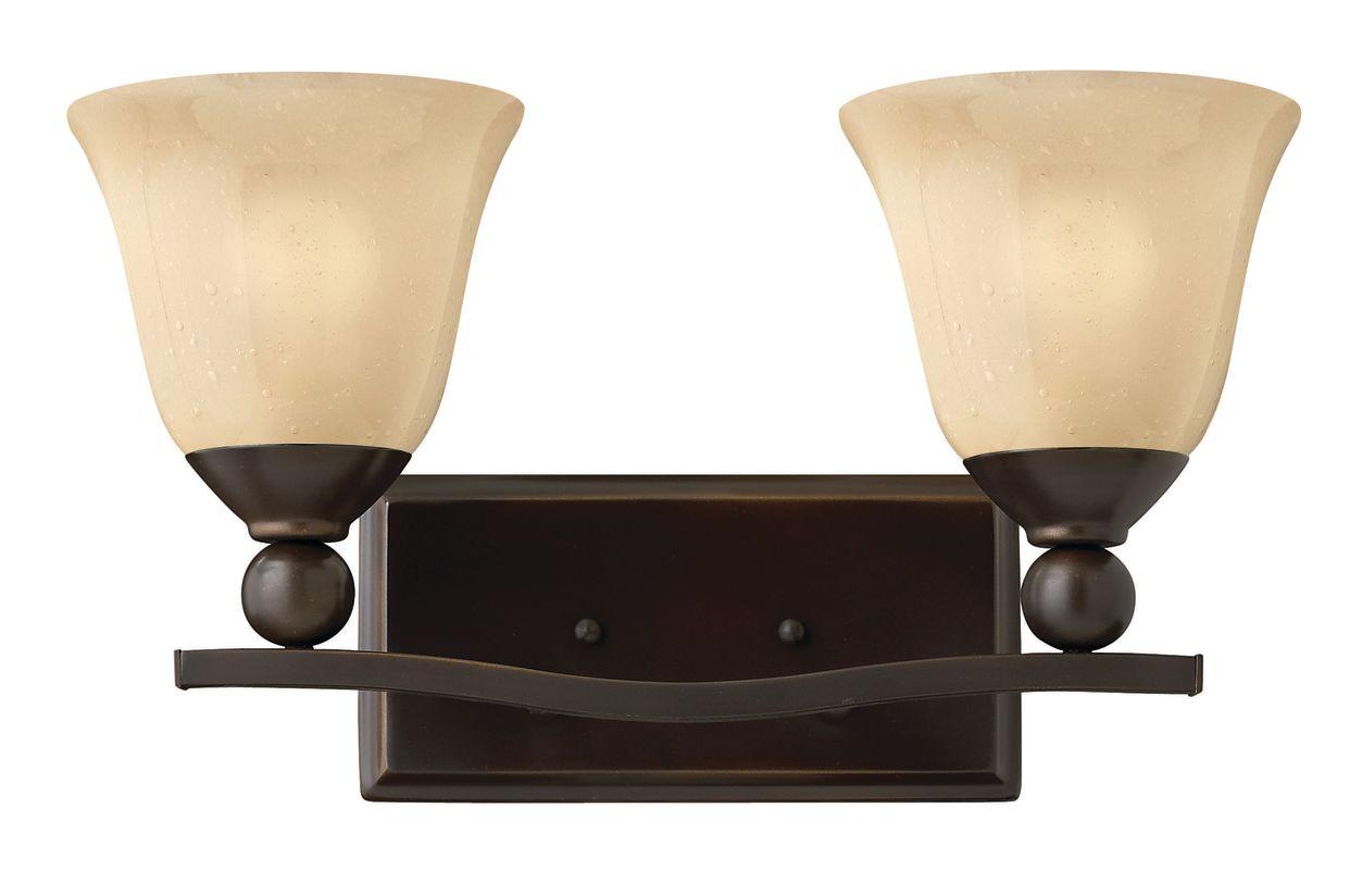 Hinkley Lighting 5892-LED 2 Light LED Bathroom Vanity Light from the Sale $279.00 ITEM: bci2635606 ID#:5892OB-LED UPC: 640665589283 :