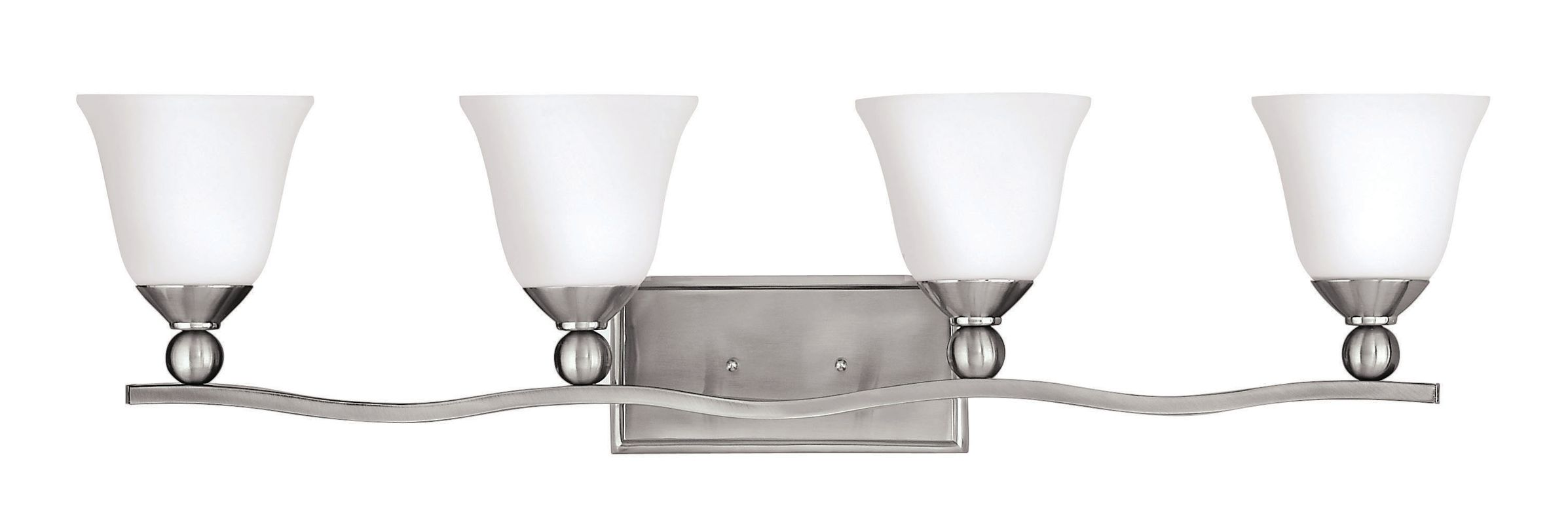 Hinkley Lighting 5894-GU24 4 Light Title 24 Fluorescent Bathroom
