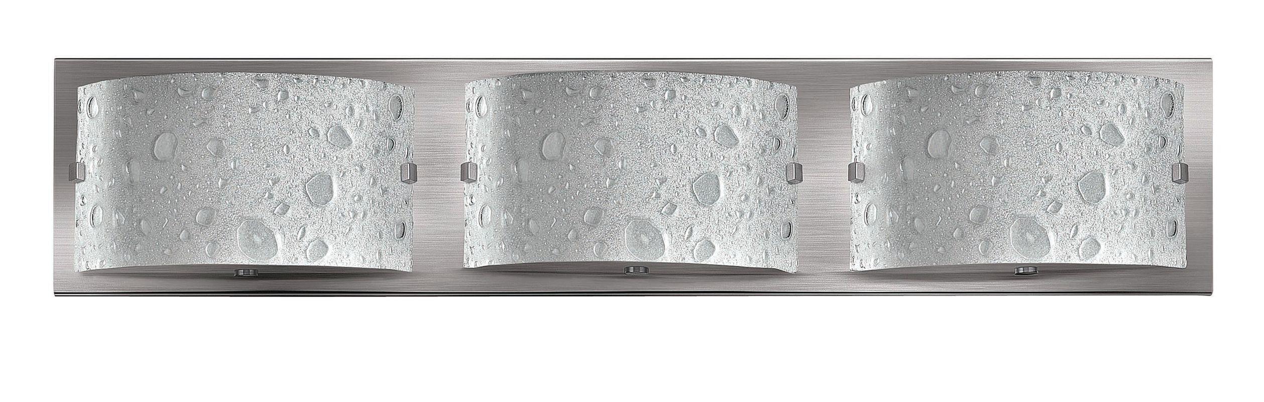 Hinkley 5923BN-LED2 Brushed Nickel Contemporary Daphne Bathroom Light