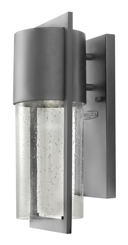 Hinkley Lighting 1320HE Hematite Contemporary Shelter Wall Sconce