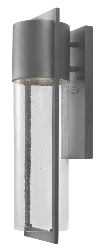 Hinkley Lighting 1324HE Hematite Contemporary Shelter Wall Sconce