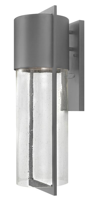 Hinkley Lighting 1325HE Hematite Contemporary Shelter Wall Sconce
