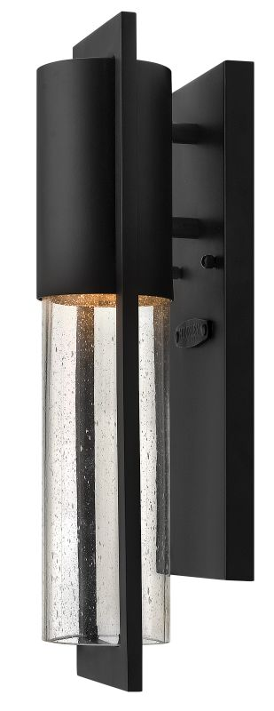 Hinkley Lighting 1326BK Black Contemporary Shelter Wall Sconce Sale $109.00 ITEM: bci1709721 ID#:1326BK UPC: 640665132601 :