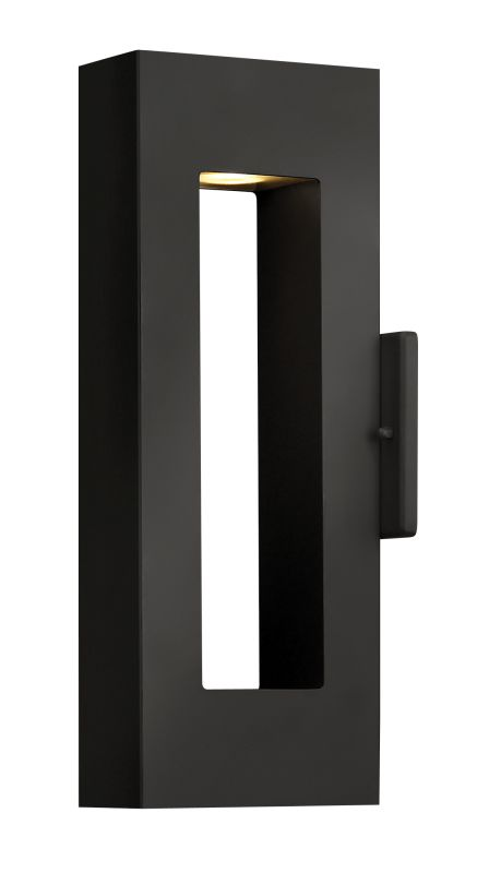 Hinkley 1640SK-LED Satin Black Contemporary Atlantis Wall Sconce Sale $439.00 ITEM: bci1709801 ID#:1640SK-LED UPC: 640665164060 :