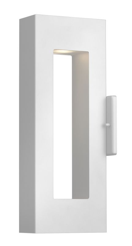 Hinkley Lighting 1640SW Satin White Contemporary Atlantis Wall Sconce