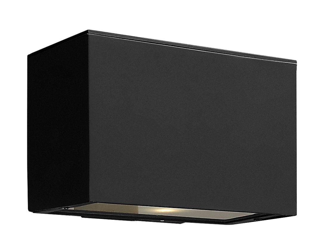 Hinkley 1646SK-LED Satin Black Contemporary Atlantis Wall Sconce