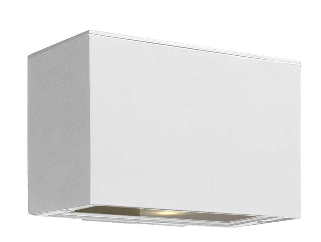 Hinkley Lighting 1646SW Satin White Contemporary Atlantis Wall Sconce Sale $159.00 ITEM: bci1709827 ID#:1646SW UPC: 640665164664 :