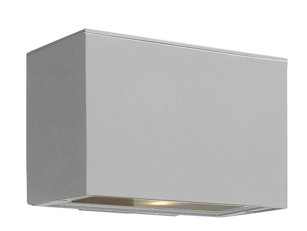 Hinkley Lighting 1646TT-LED Titanium Contemporary Atlantis Wall Sconce Sale $259.00 ITEM: bci1709836 ID#:1646TT-LED UPC: 640665964615 :