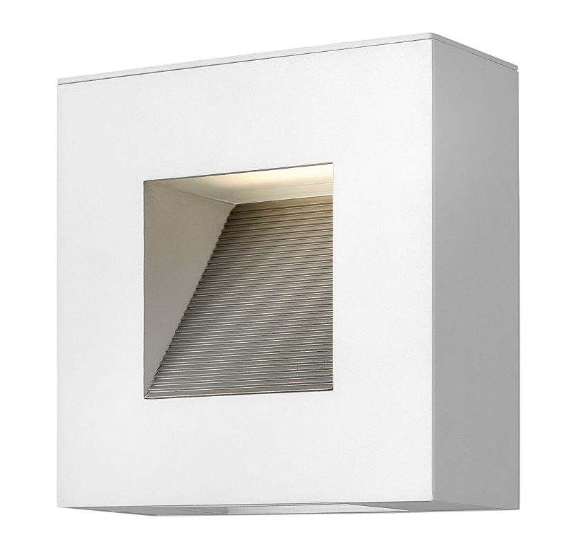 Hinkley Lighting 1647SW Satin White Contemporary Luna Wall Sconce Sale $369.00 ITEM: bci1701471 ID#:1647SW UPC: 640665164749 :