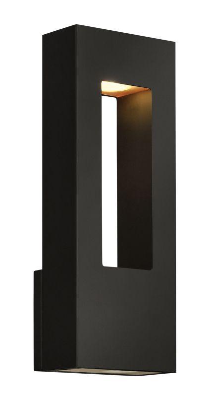 Hinkley 1648SK-LED Satin Black Contemporary Atlantis Wall Sconce