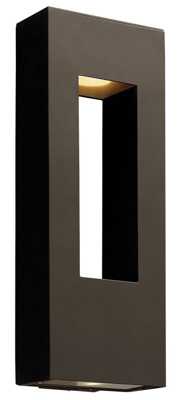 Hinkley Lighting 1649BZ-LED Bronze Contemporary Atlantis Wall Sconce