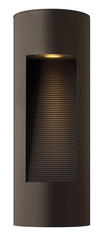 Hinkley Lighting 1660BZ-LED Bronze Contemporary Luna Wall Sconce Sale $469.00 ITEM: bci1709847 ID#:1660BZ-LED UPC: 640665166071 :
