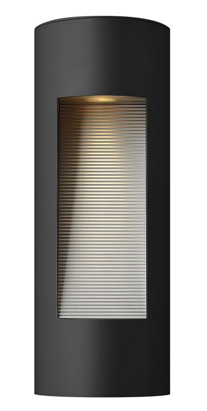 Hinkley Lighting 1660SK Satin Black Contemporary Luna Wall Sconce