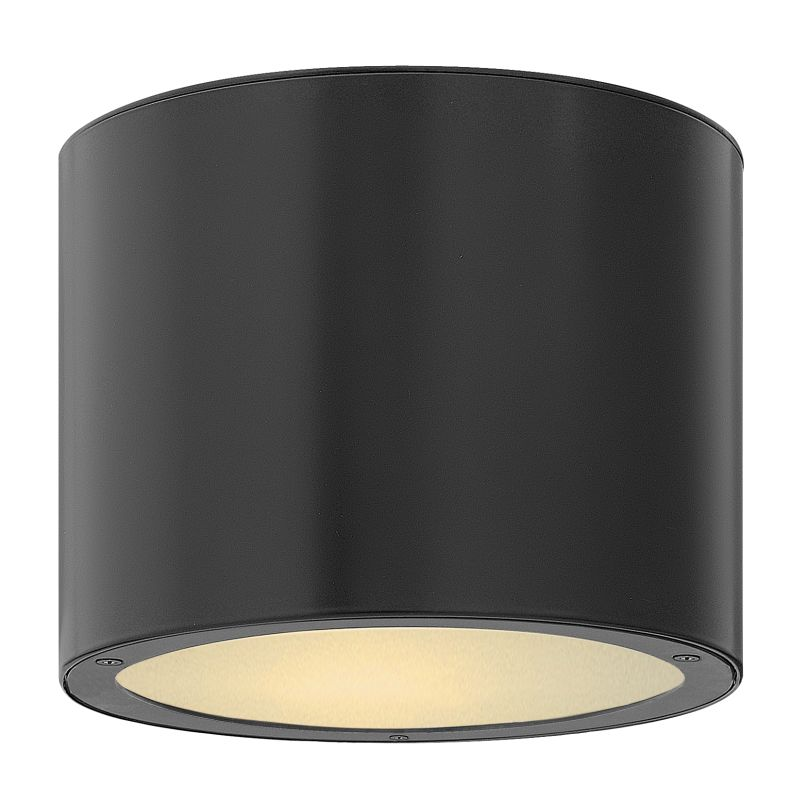 Hinkley 1663SK-LED Satin Black Contemporary Luna Ceiling Light