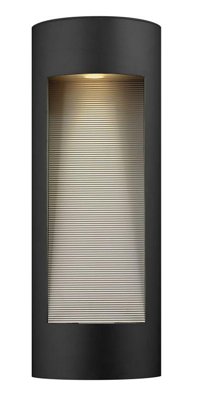 Hinkley Lighting 1664SK Satin Black Contemporary Luna Wall Sconce