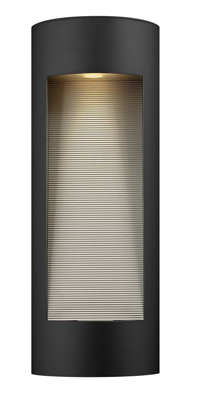 Hinkley Lighting 1664SK-LED Satin Black Contemporary Luna Wall Sconce