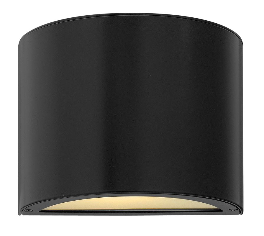 Hinkley Lighting 1666SK Satin Black Contemporary Luna Wall Sconce