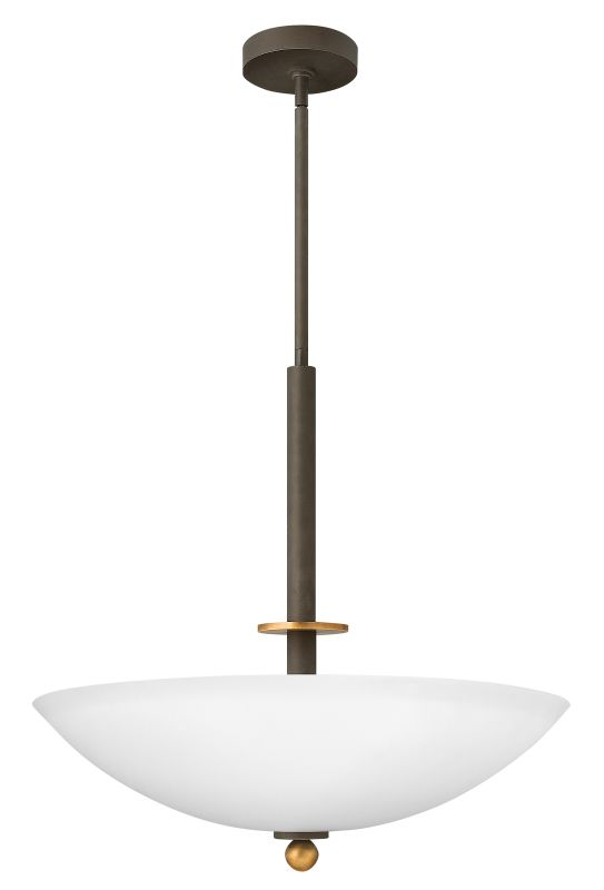 Hinkley Lighting 4682 4 Light Indoor Bowl Shaped Pendant from the Sale $107.00 ITEM: bci1709975 ID#:4682OZ UPC: 640665468205 :