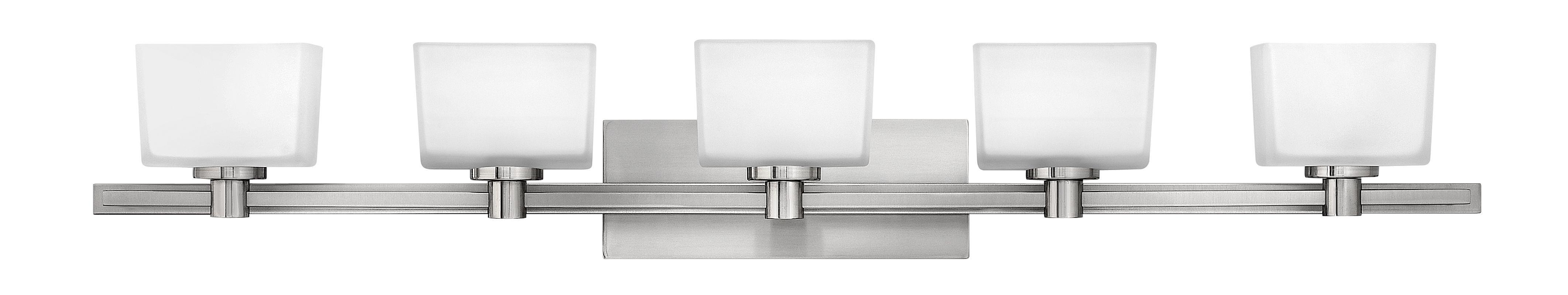 Hinkley 5025BN Brushed Nickel Contemporary Taylor Bathroom Light