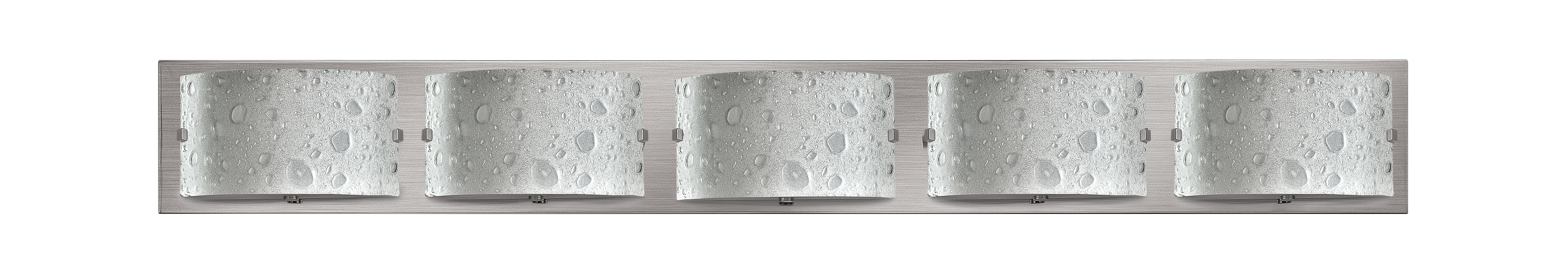 Hinkley 5925BN Brushed Nickel Contemporary Daphne Bathroom Light