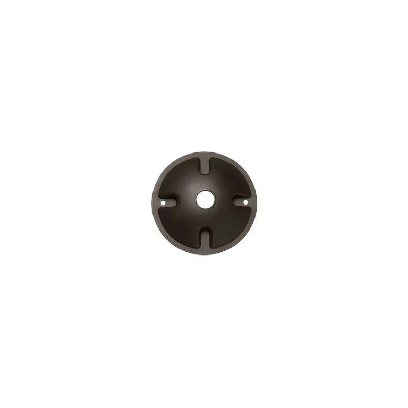 Hinkley Lighting 0022 Landscape Lighting Junction Box Cover Bronze
