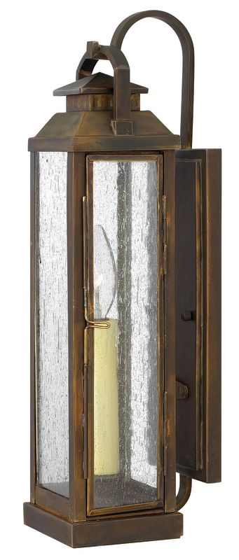 "Hinkley Lighting 1180 17.5"" Height 1 Light Lantern Outdoor Wall Sconce"