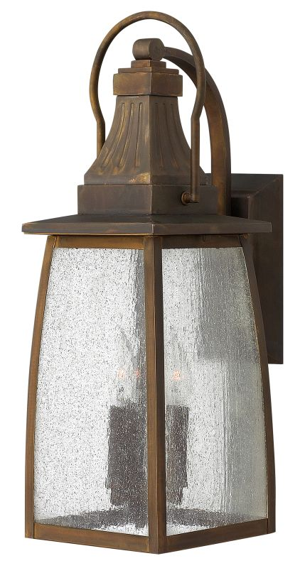 "Hinkley Lighting 1204 20.8"" Height 3 Light Lantern Outdoor Wall Sconce"