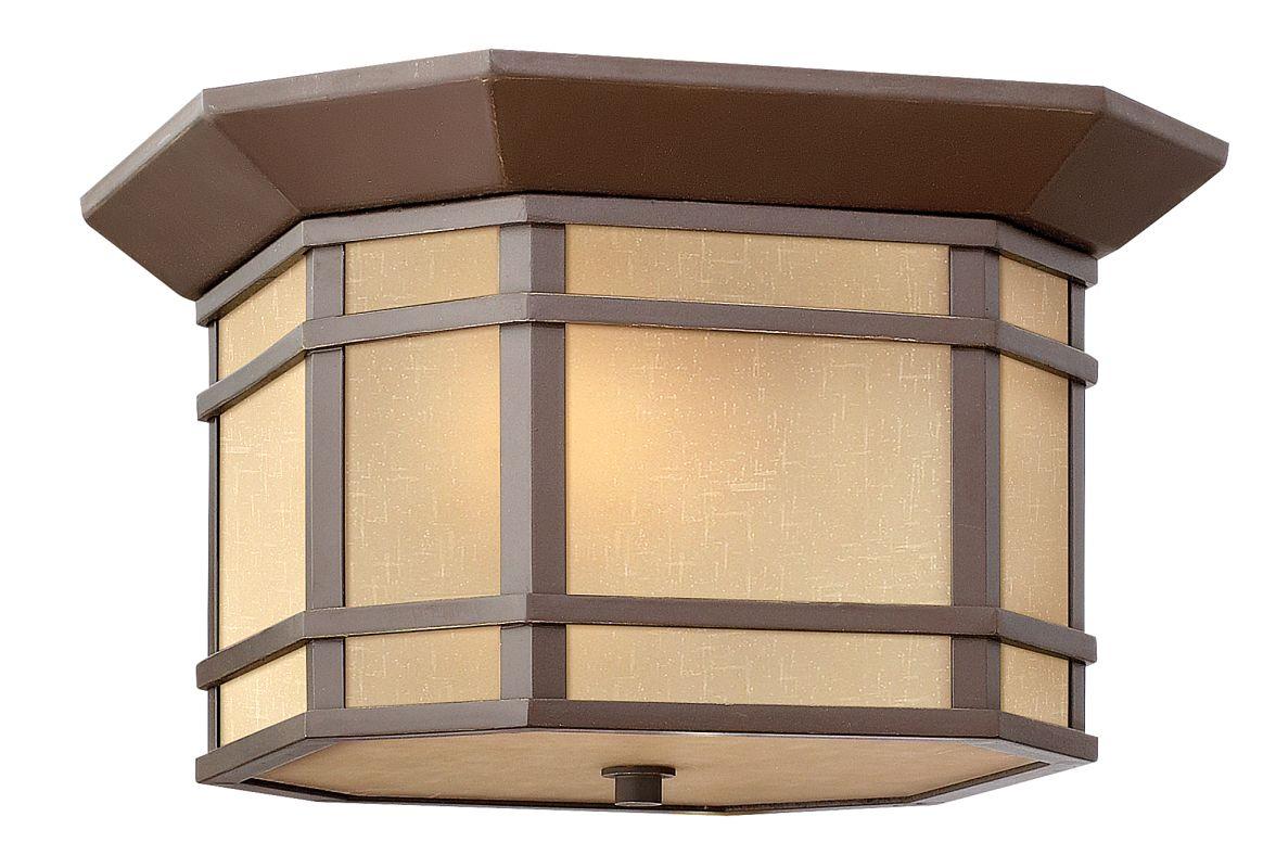 Hinkley Lighting 1273 2 Light Outdoor Flush Mount Ceiling Fixture from