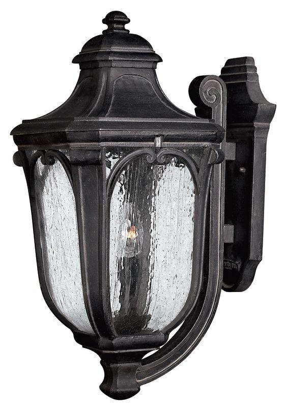 "Hinkley Lighting H1315 22"" Height 3 Light Lantern Outdoor Wall Sconce"